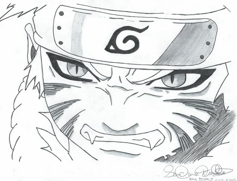 Naruto avant couleur - Du rêve au crayon Gaara And Naruto Chibi