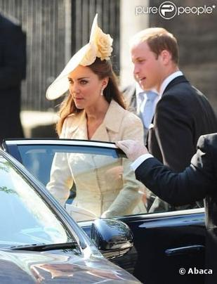 Kate au mariage de Zara Phillips