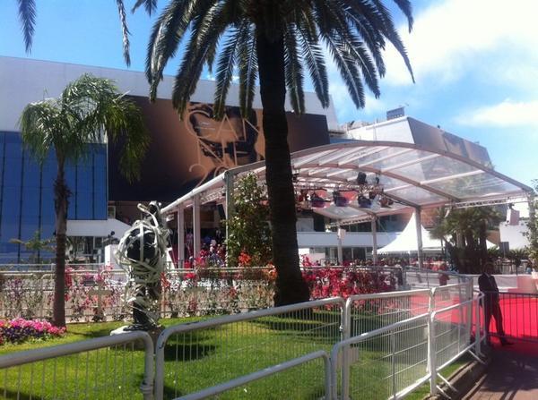 C'est parti, sous le soleil. #Cannes 2014 est lanc�!