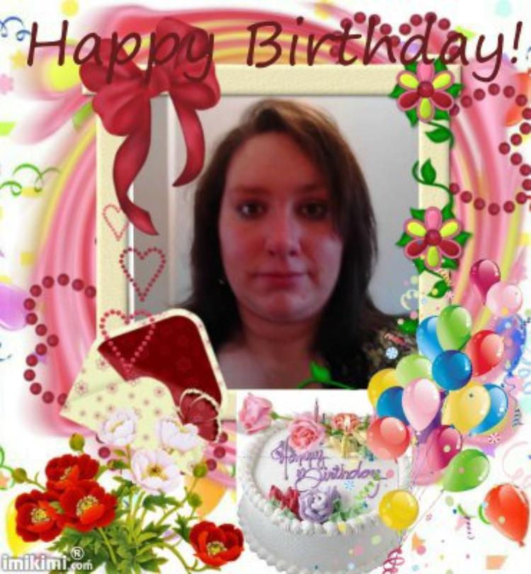 joyeux anniversaire a ma fille amandine et a mon petit fils wail