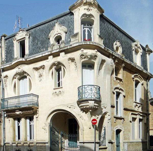 Articles de raconte moi tagg s styles architecturaux - Maison de l art nouveau ...