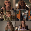 « Quelques captures de Bridgit jouant dans le film Labor Pains. »