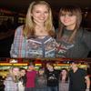 .   « Bridgit au bowling avec des amis & co-stars ce 29 Mars 2010 »    Ce sont des photos d'une fan qui a en rajouté : C'était super de poser     avec le cast de Good Luck Charlie. Ce sont des personnes biens.     .         0