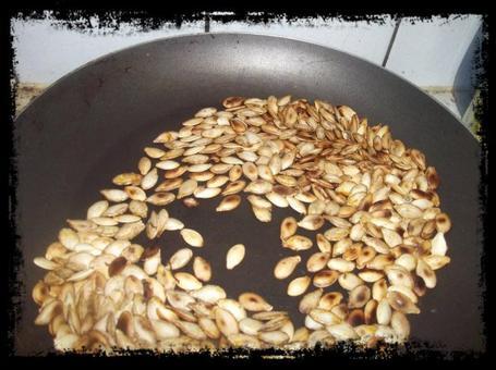 Graines de courge grill es les petits rats ketteurs de lily - Graines de potimarron grillees ...