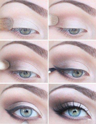 maquillage yeux en degrade