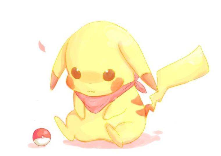 Pikachu kawaii - Dessin pikachu mignon ...