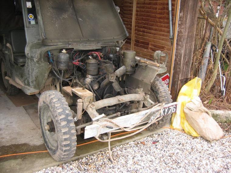 changement du moteur d origine de la jeep par un diesel indenor de 505 turbo d blog de ggegene76. Black Bedroom Furniture Sets. Home Design Ideas