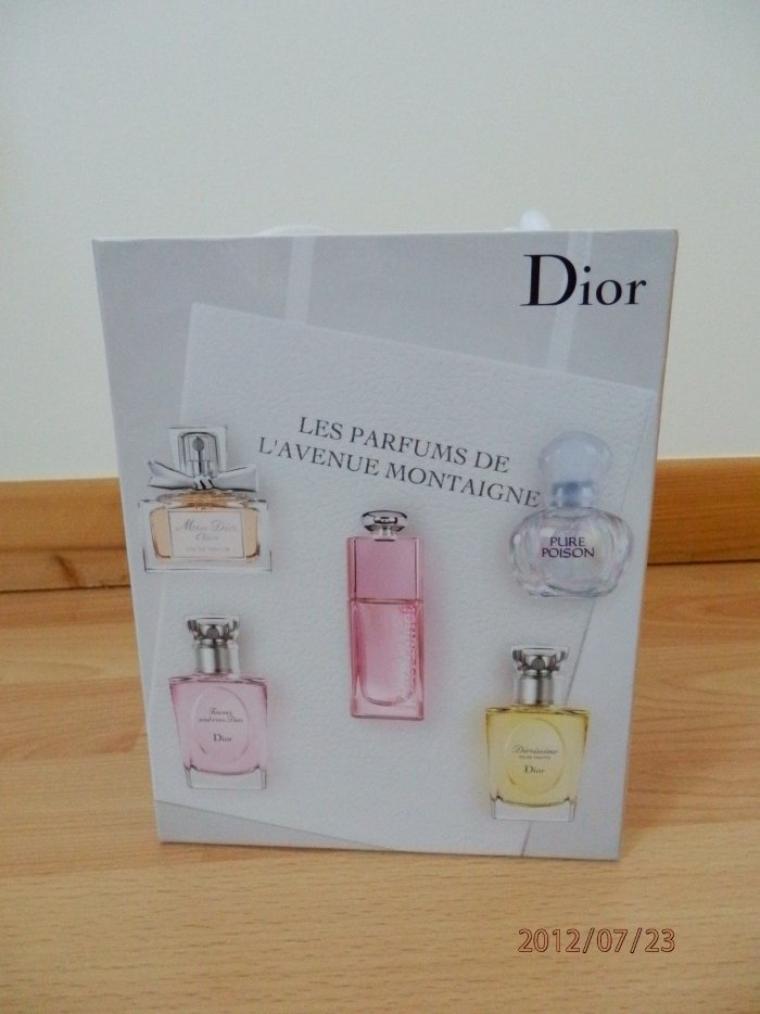 coffret dior pas a vendre ma collection de parfum. Black Bedroom Furniture Sets. Home Design Ideas