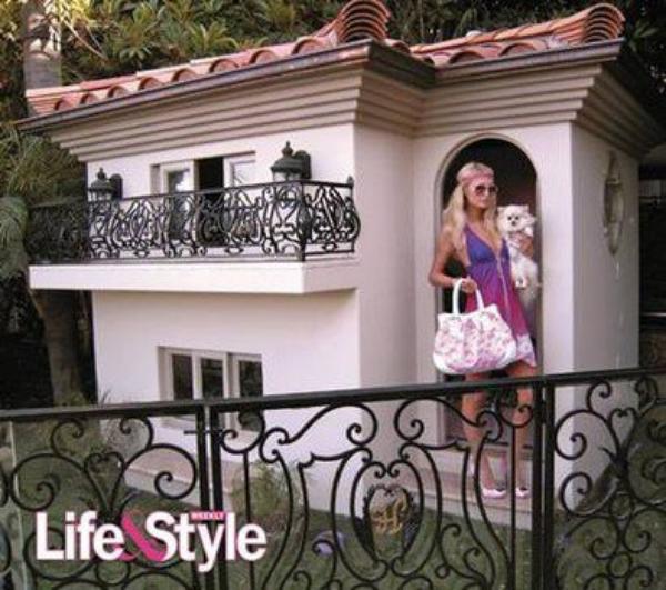 La villa des chihuahuas de paris hilton luxury dogs - Maison de paris hilton ...