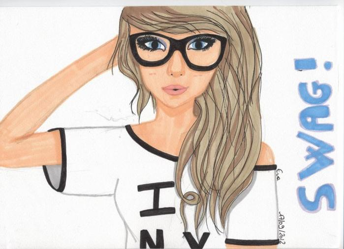 Dessin De Fille Swag Facile A Faire