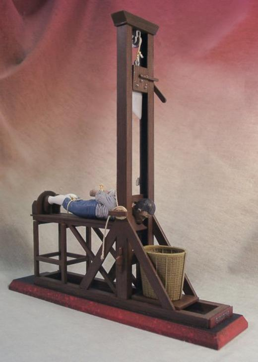 how to make a small guillotine