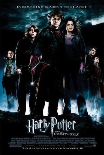 'Harry Potter et la Coupe de Feu'
