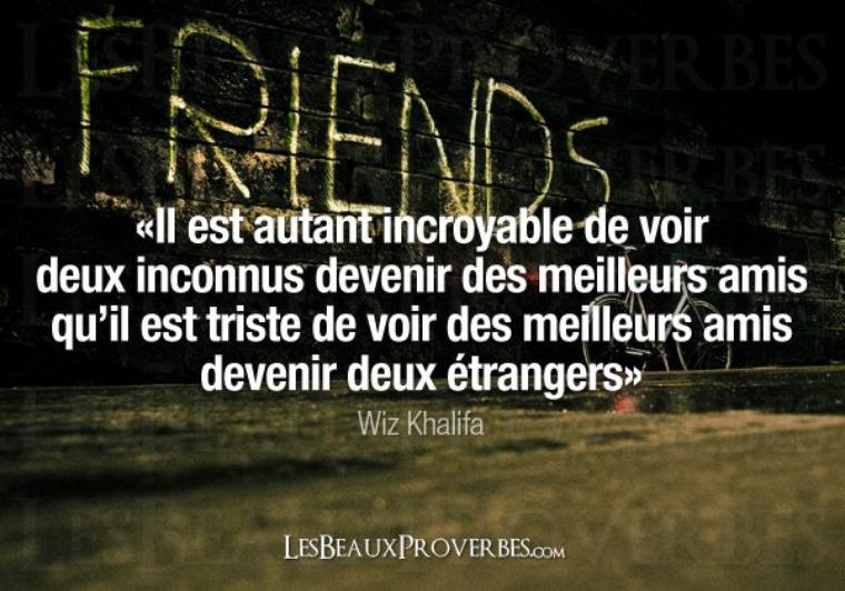 Proverbe sur l'amitié
