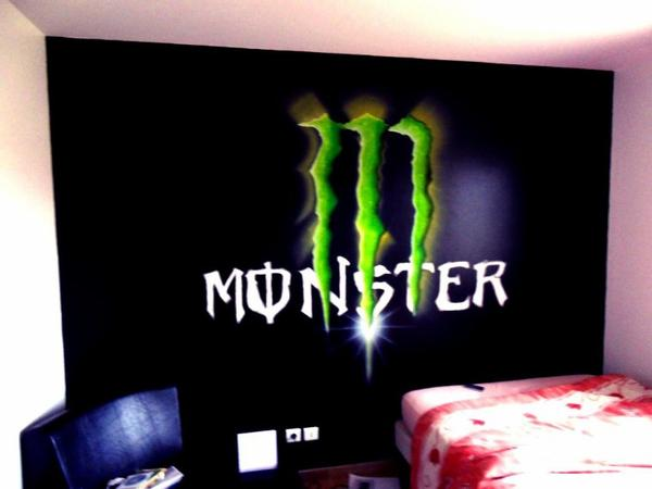 D co chambre monster energy - Deco chambre monster high ...