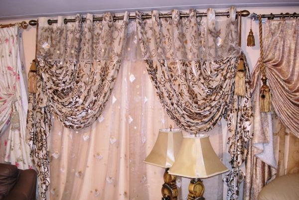Articles de salons marocains tagg s salon agnaou decor for Modele rideau salon moderne