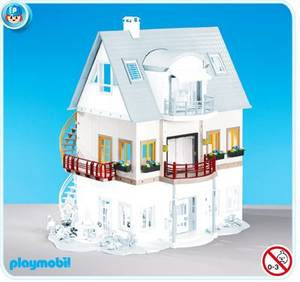 MAISON MODERNE 4279 Villa moderne + 7387 + 7388 + 7389 + 7390 - 7391 ...