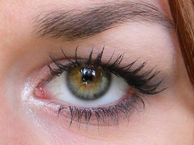 maquillage yeux marrons reflets verts. Black Bedroom Furniture Sets. Home Design Ideas