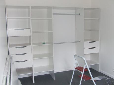 montage d 39 un dressing entreprise ludovic maulav. Black Bedroom Furniture Sets. Home Design Ideas
