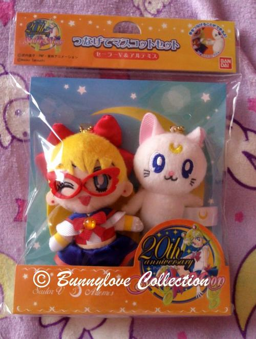 Sailor V & Artemis Plush