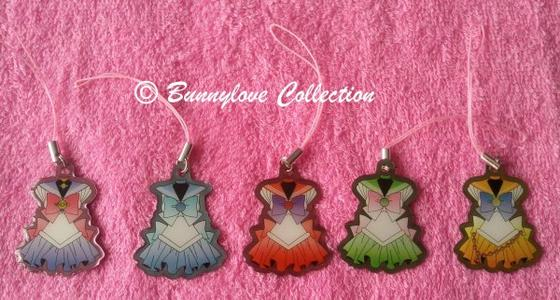 Ensky Sailor Moon Metal Charm