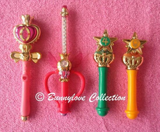 Bandai - Sailor Moon 20th Anniversary - Stick and Pen Gashapon - Set 2