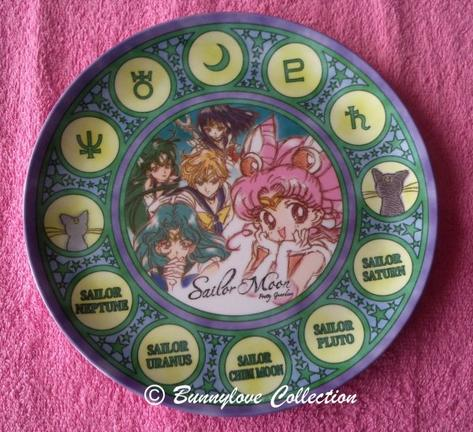 Outer Sailor Moon Plate