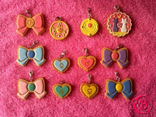 Sailor Moon Cookie Charm - Charm Patisserie