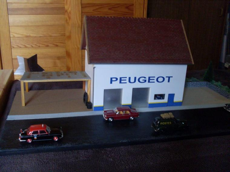 Articles de dioramas 1 43 tagg s garage peugeot for Garage des francs garage peugeot tourcoing