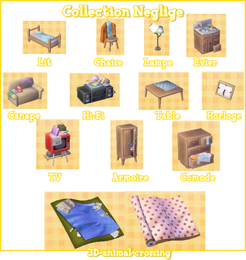 collections de meubles animal crossing new leaf blog d 39 astuce sur tous les animal crossing. Black Bedroom Furniture Sets. Home Design Ideas