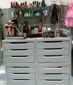 Id e rangemen pour maquillege my and my friends forever - Rangement maquillage commode ...