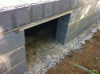 L 39 acces au vide sanitaire notre maison extraco for Vide sanitaire ou pas