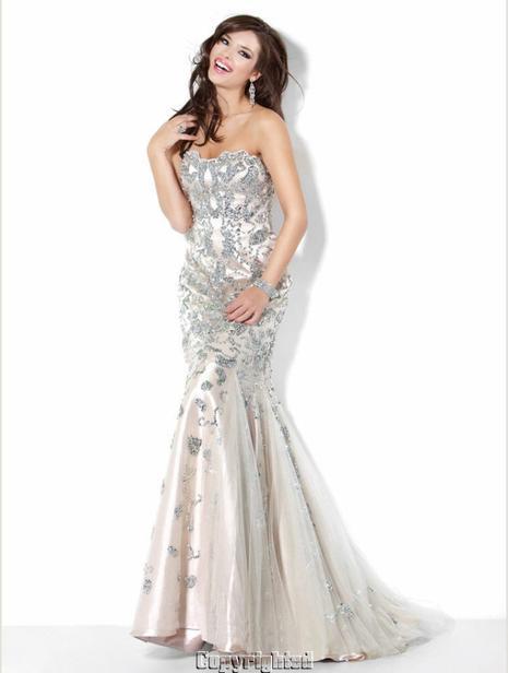magnifique robe de fiancaille jovani t 38 robe de soiree et de mariee haute. Black Bedroom Furniture Sets. Home Design Ideas