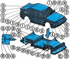 plan maquette auto