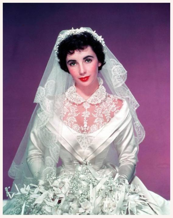 la robe de mari e dans tous ses tats 15 stars dans les ann es 40 50 60 portant une robe de. Black Bedroom Furniture Sets. Home Design Ideas