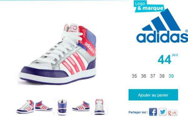 Adidas Neo Fille