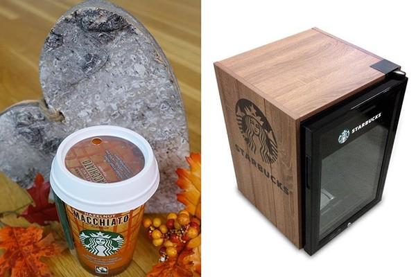 Gagnez un mini-réfrigérateur Starbucks!