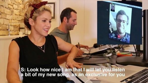 Instagram video by Shakira • Oct 27, 2016 at 10:55pm UTC