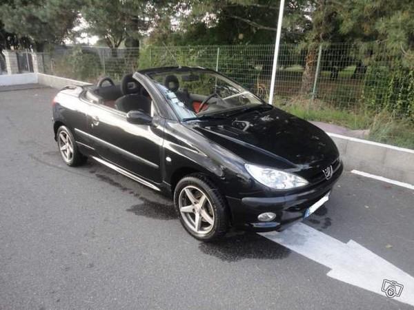Peugeot 206 cc 1,6l 16v Voitures Charente - leboncoin.fr
