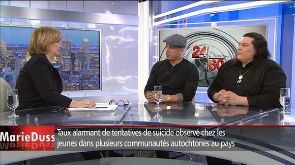 Samian appelle Justin Trudeau à «changer l'Histoire»concernant les communautésautochtones