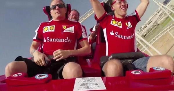 Grand Prix d'Abu Dhabi - Ferrari land