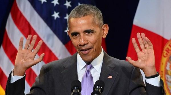 VIDÉO. La réponse d'Obama à un supporter de Trump pendant son discours devient virale