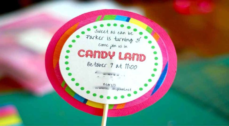 Throw Attractive Candy Land Theme Birthday Party for your Kids - WAC