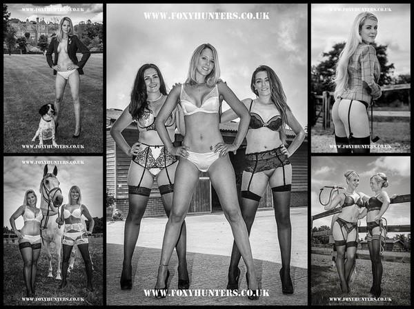 Le calendrier sexy des cavalières d'un centre équestre anglais
