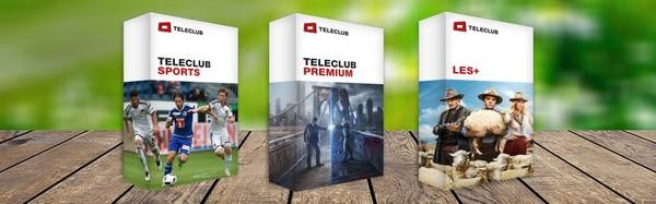 Teleclub - Gagnez maintenant 1 an gratuit!