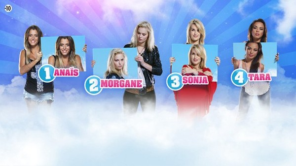 Deuxièmes nominations : Anaïs, Morgane, Sonja et Tara ! Comment voter? Qu a nominé qui? Toutes les infos :