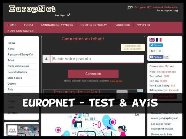 EuropNet - Test & Avis