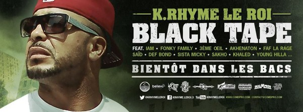 K Rhyme Le Roi - Black Tape | Facebook