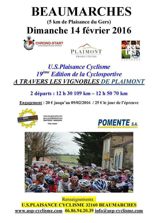U S Plaisance Cyclisme
