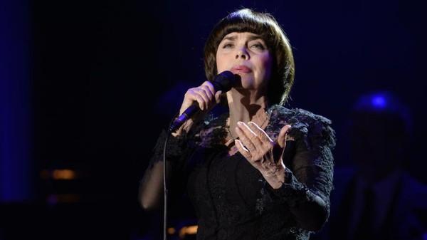 Šansoniérka Mireille Mathieu koncertovala v Praze