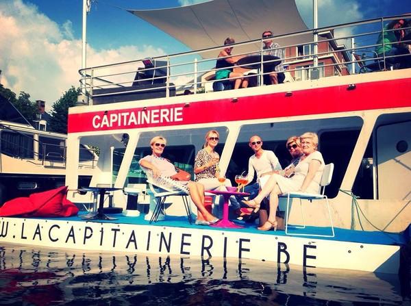 Les capitaineries de Jambes et Namur